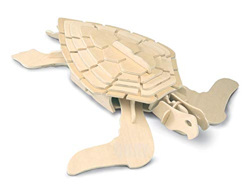 Quay E009 Turtle Woodcraft Construction Kit FSC, Brown from Quay