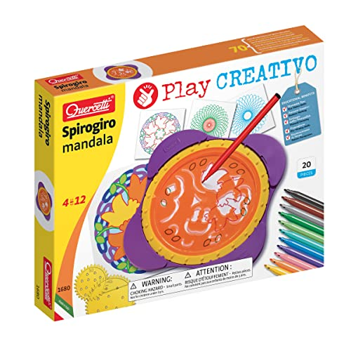 Quercetti Spirogiro Mandala Toy Set from Quercetti