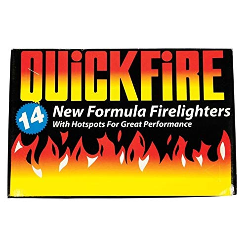 4X Fire Lighters Quickfire Firelighters Bulk Pack Hotspots Burners BBQ COAL LIGHTERS WOOD BURNERS from Quickfire