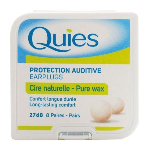 Quies Wax Ear Plugs - 8 pairs by Quies from Quies
