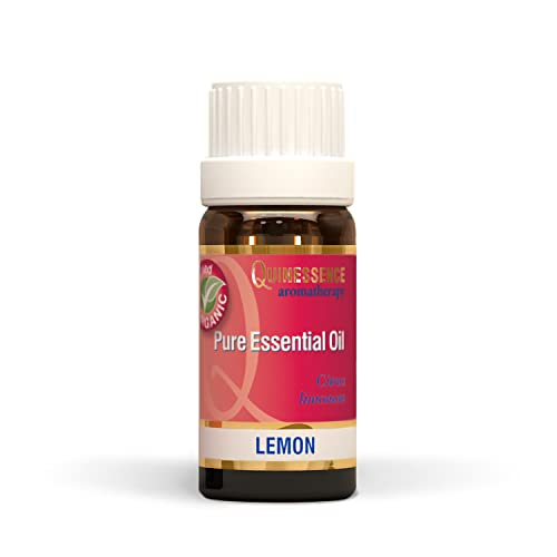 Lemon Essential Oil - Certified Organic 10ml from Quinessence Aromatherapy