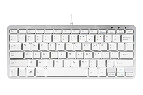 R-Go Tools Compact Keyboard QWERTY - keyboards (USB, QWERTY, Wired, Wh from R-Go Tools