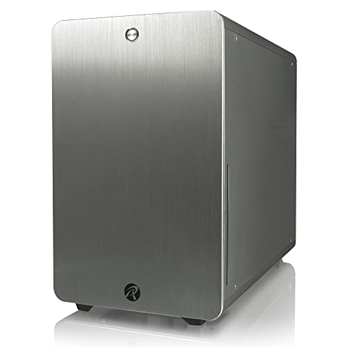 RAIJINTEK 0R200036 STYX Micro-ATX Tower Computer Case - Silver from RAIJINTEK Corporation