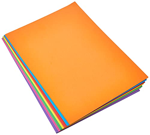 RAINBOW Intensive A4 160 gsm Bright Rainbow Coloured Card (Pack of 70 Sheets) from Rainbow