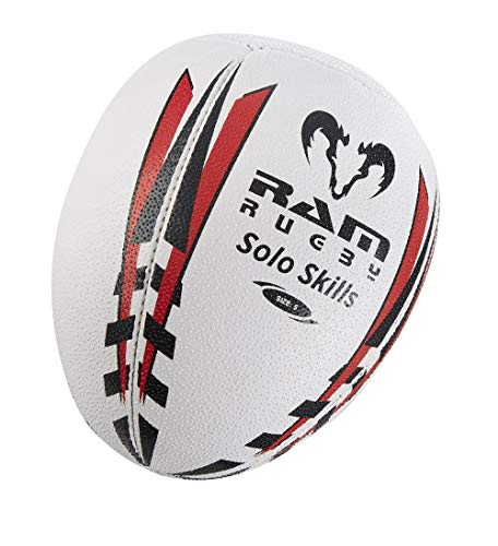 Solo Skills Rugby Ball - Rebound Wall Individual Shadow Training (4) from Ram