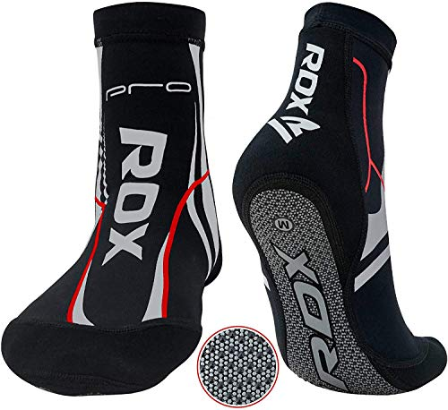 Authentic RDX MMA Grip Training Fight Socks Boxing Foot Ankle Shin Boots Shoes Guards Medium from RDX