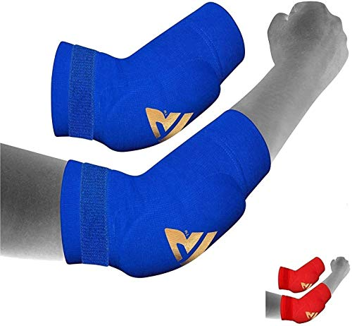 RDX MMA Elbow Support Brace Sleeve Pads Guard Bandage Elasticated Shield Protector from RDX