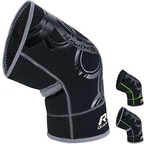 RDX Neoprene Knee Brace Support Guard Protector Pad Elasticated Sleeve (THIS IS SOLD AS SINGLE ITEM) from RDX
