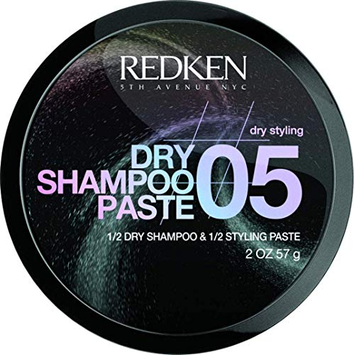 REDKEN | Dry Texture | Dry Shampoo Paste 05 | 2-In-1 Paste Absorbs Oil and Adds Texture | For All Hair Types | 57 g from REDKEN