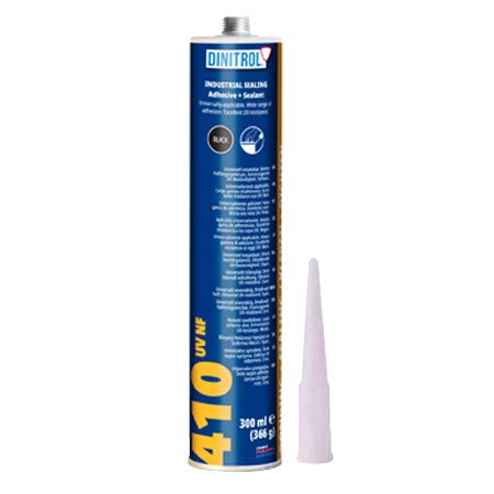 DINITROL 410 UV POLYURETHANE BLACK 310ml TUBE. Sealing and adhesive compound. from REJEL