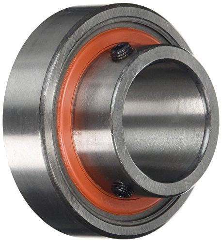RHP 1130-30 1100G Self Lube Bearing Insert with Parallel Outer Diameter and Integral Set Screw Lock, 16.00mm x 30mm Ø x 62.000mm Ø from RHP
