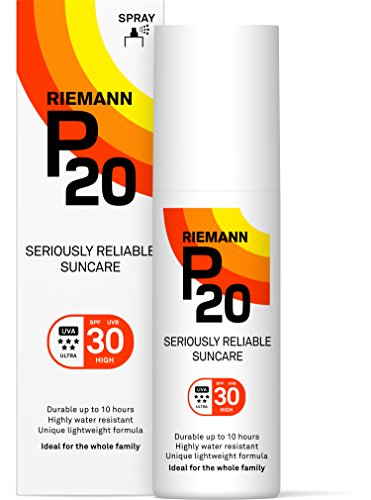 Riemann P20 Sunscreen SPF30 Spray 100ml | Long Lasting UVA & UVB Protection for up to 10 hours | Highly Water Resistant from RIEMANN P20