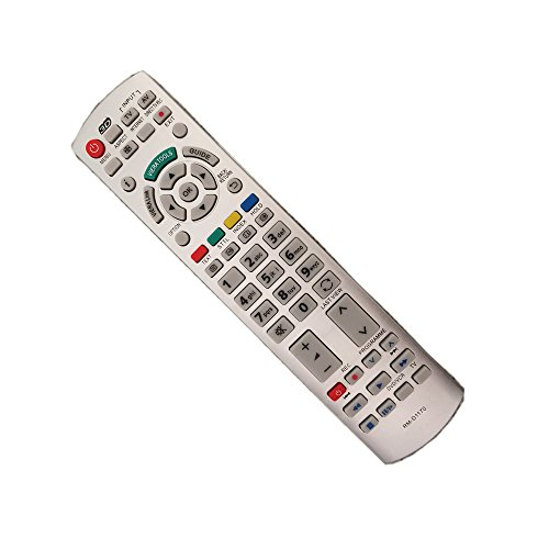 RLsales General Replacment Remote Control RM-D1170 Fit for Panasonic N2QAYB000752 N2QAYB000572 N2QAYB000673 N2QAY000504 N2QAY000490 N2QAY000715 N2QAY000672 from RLsales
