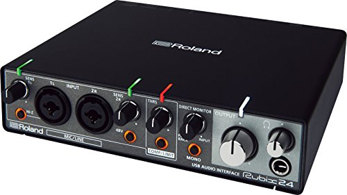 Roland RUBIX24 2-In/4-Out High-Resolution Interface from ROLAND
