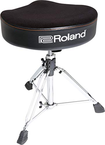 Roland Saddle Drum Throne, with velour seat - RDT-S from ROLAND