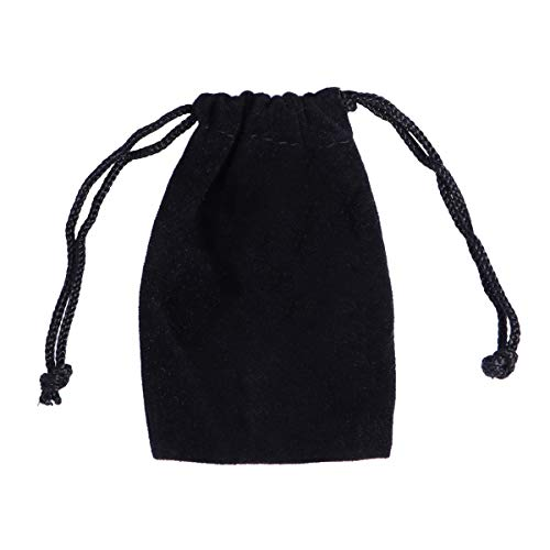 ROSENICE Small Jewelry Bags 75pcs Soft Durable Velvet Pouch Drawstring Drawstring Storage Bags,9x7cm from ROSENICE