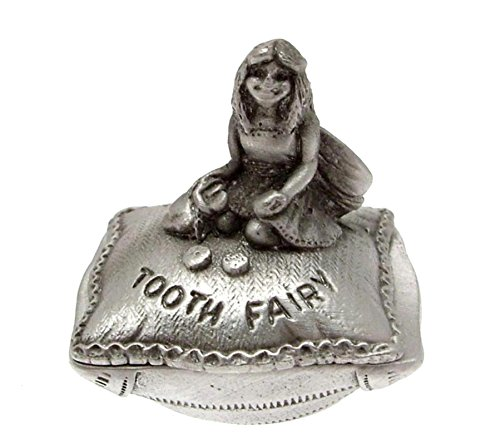 Small Pewter My Little Tooth Fairy box - suitable for a girl from RSC