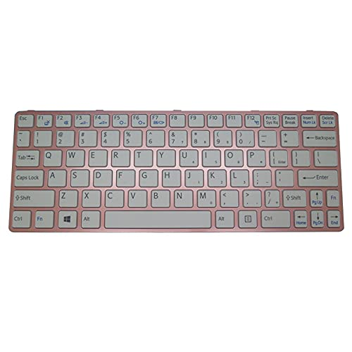RTDpart Laptop Keyboard For CLEVO W370ET MP-12A36GB-4301W United Kingdom UK With Black Frame