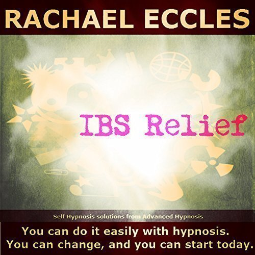 IBS Relief (relieve irritable bowel syndrome) hypnotherapy 3 track self hypnosis CD from Rachael Eccles Advanced Hypnosis