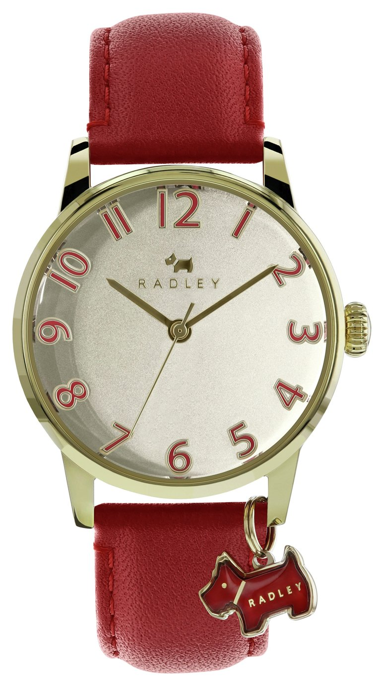 Radley Ladies' Blair RY2250 Red Leather Strap Watch from Radley