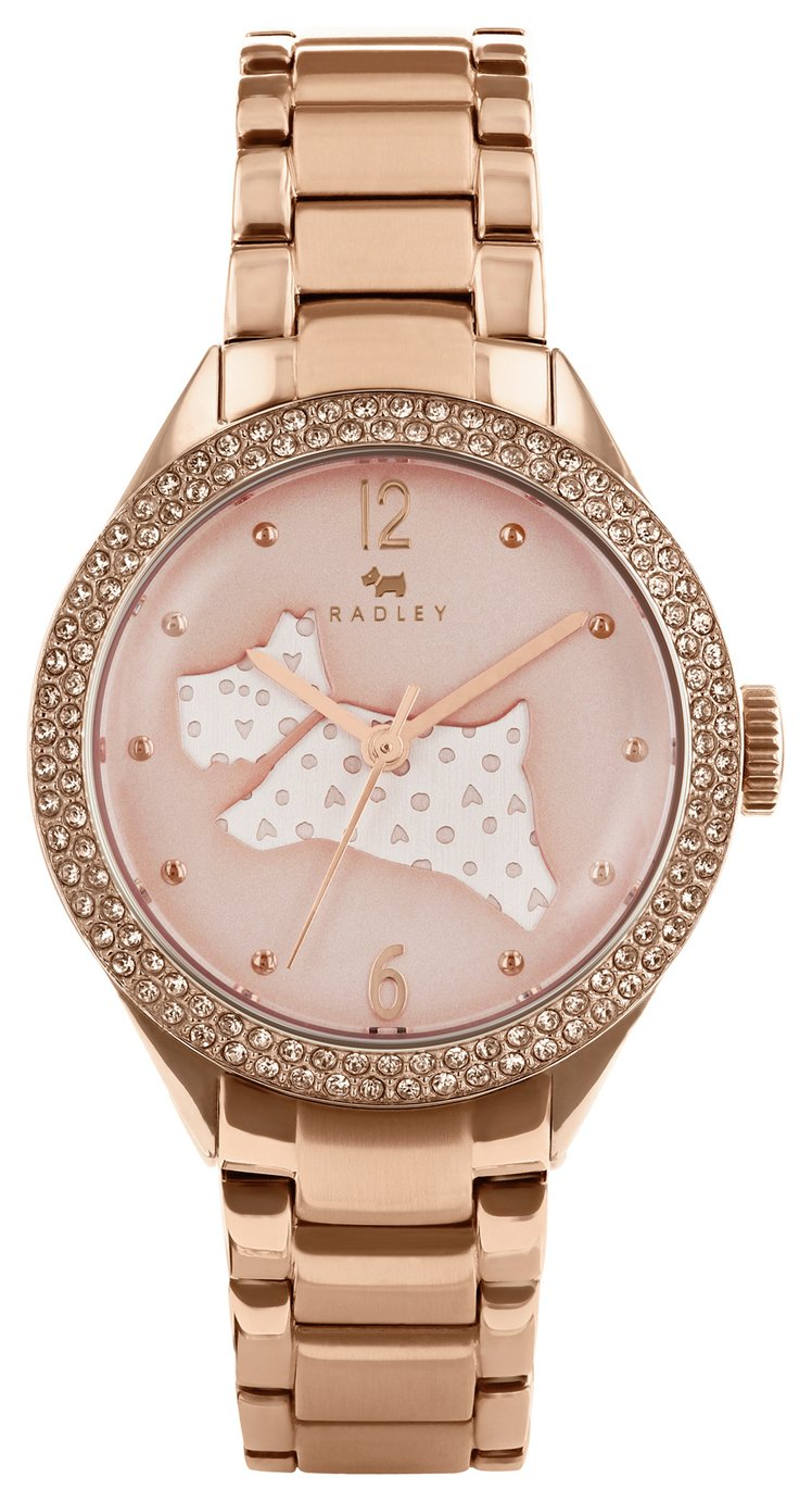 Radley Ladies' Great Outdoors RY4190 Rose Gold Plated Watch from Radley