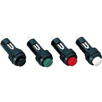 Rafi 110107011.0104 Pushbutton Raised 1 x Off/(On) 100mA 24V Black... from Rafi