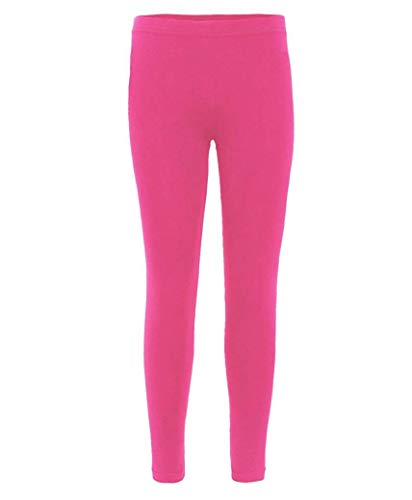 Kids Plain Leggings in Cerise 13 Years from RageIT