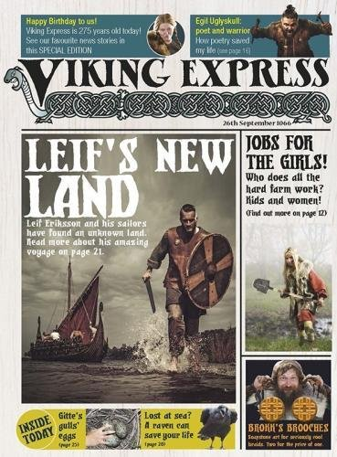The Viking Express (Raintree Perspectives: Newspapers from History) from Raintree