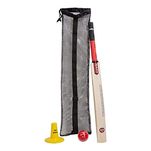 Ram Cricket Batting Coaching Set - Includes Technique Bat, Wondaball, Supplied in Carry Bag - 2 (6) from Ram