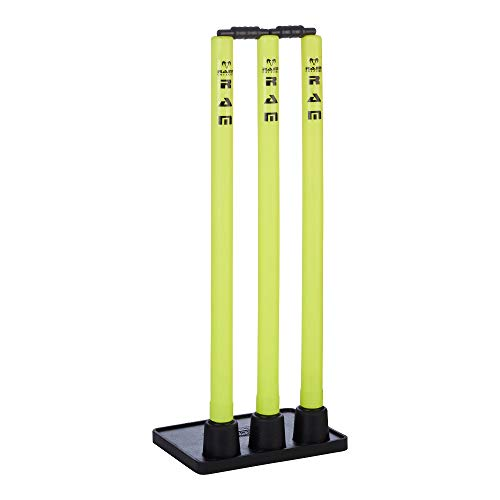Ram Cricket Flexi Based Plastic Stumps - Fluoro Yellow from Ram