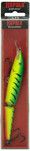 Rapala Unisex's Jointed Lure, Firetiger, 13 from Rapala
