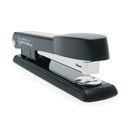 Rapesco Stapler R54500B2 - Marlin, 25-sheet capacity. Uses 26 and 24/6mm Staples - Black from Rapesco