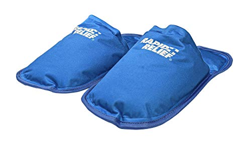 "PREMIUM REUSABLE COLD SLIPPERS 5""x12"" from RapidRelief"