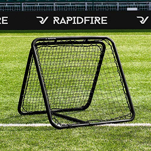 RapidFire DOUBLE Rebound Net - The Most Fun Way To Improve Catching Skills [Net World Sports] from RapidFire