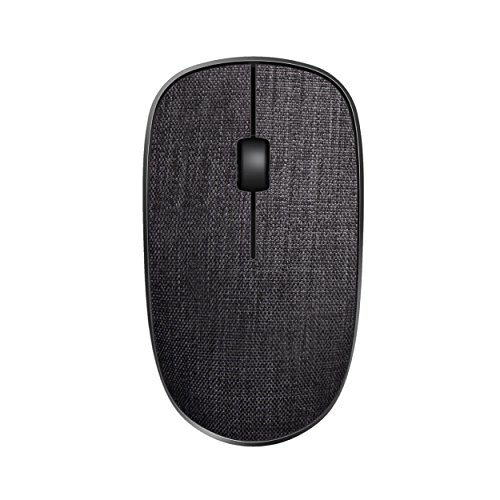 Rapoo 3510 Plus 2.4GHz Wireless Optical Fabric Mouse Black from Rapoo