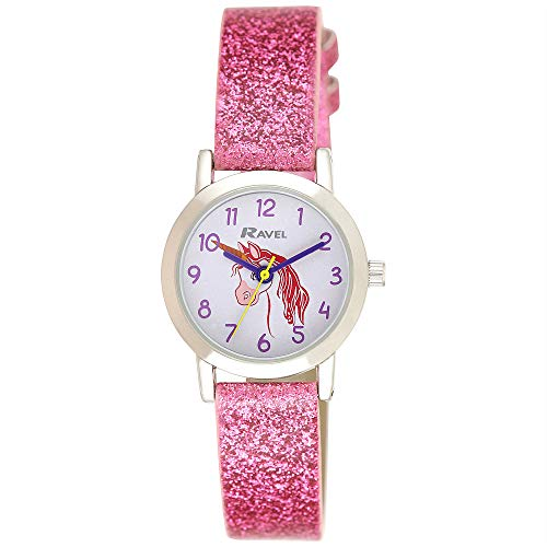 RAVEL Girls Analogue Classic Quartz Watch with PU Strap R1808.1 from Ravel