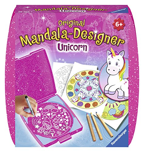 Ravensburger Designer 29704 Mini Mandala Designer Original Mandala Unicorn Craft Kit & from Ravensburger