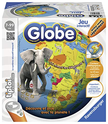 Ravensburger tiptoi Interactive Globe 00793 - Drive not included from Ravensburger