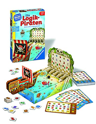 Ravensburger 24969 Game: The Logical Pirate [German Language Version] from Ravensburger
