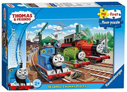 Ravensburger My First Floor Puzzle - Thomas & Friends, 16pc Jigsaw Puzzles from Ravensburger