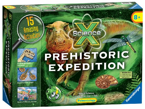 Ravensburger ScienceX® Maxi, Prehistoric Expedition from Ravensburger