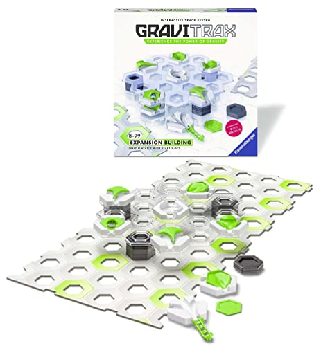 Ravensburger UK 27602 GraviTrax Building Expansion Pack-Marble Run & STEM Boys & Girls Age 8 Years and up-Multi Award Winning Toy-English Version from Ravensburger
