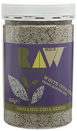 Raw Health Organic White Chia Seeds 450g from Raw Health