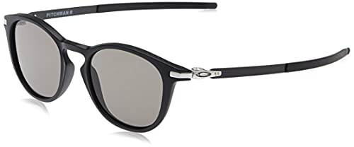 Ray-Ban Men's Pitchman R Sunglasses, Black (Negro), 50 from Ray-Ban