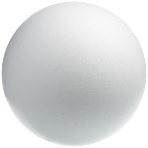 Rayher 3306300 Large, Fillable Polystyrene Craft Ball for Decorating, Two-Part Ball, Hollow Styrofoam Sphere, Diameter 40 cm, white from Rayher