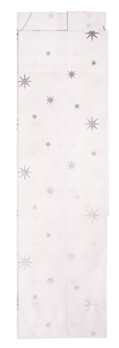 Rayher 67267606 Paper folding bag w.little stars, silver from Rayher