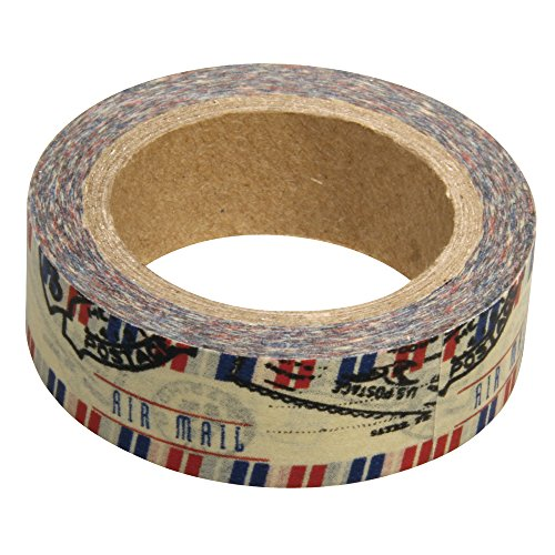 RAYHER Airmail Washi Tape, Single Roll 55mm x 15 m from Rayher