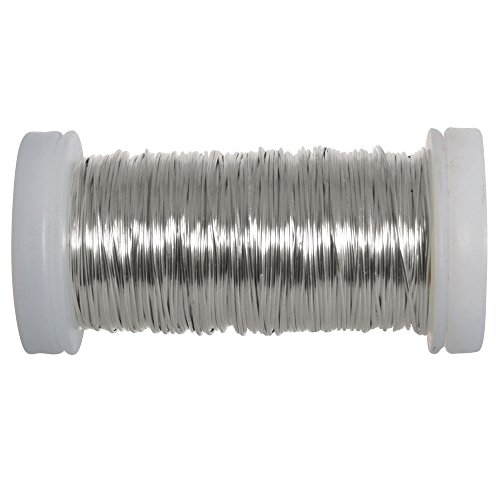 Rayher 24078000 Silver Wire for Crafting, Hobby and Jewellery Making from Rayher