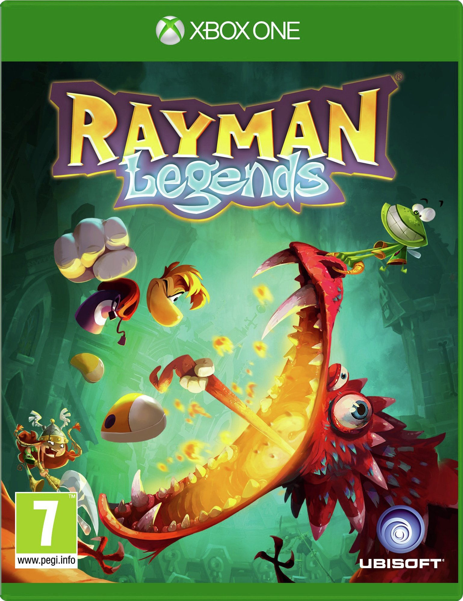 Rayman Legends Xbox One Game. from Rayman