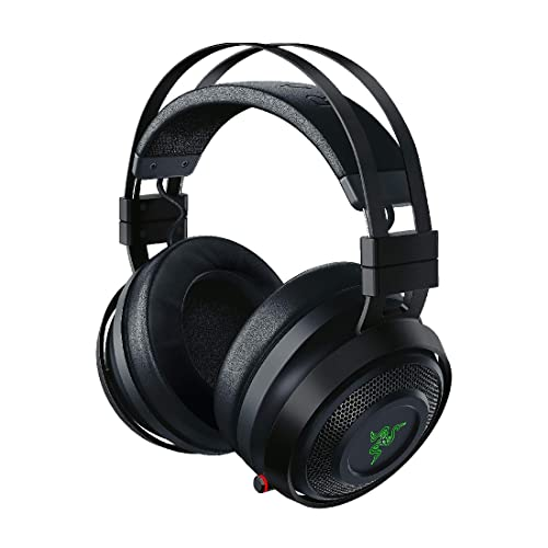 Razer Nari Ultimate Gaming Headset With THX Spatial Audio, Cooling Gel-infused Cushions, 2.4 GHz Wireless Audio, Mic with Game/Chat Balance - Black from Razer